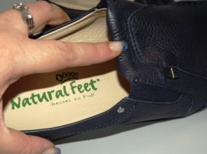 Hochwertige Verarbeitung bei Natural Feet