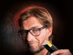 Kloppo macht Werbung für Laser Rasierer