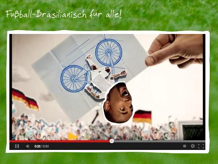 Cacaus Sprachschule – Brasilianisch für WM 2014 (Sponsored Video)