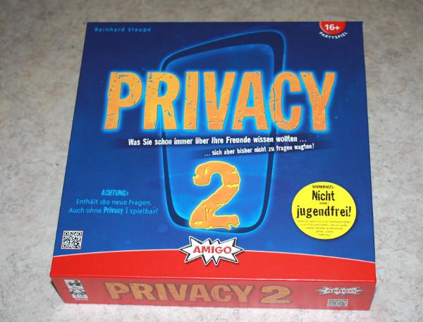 Privacy 2 - Was Sie schon immer über Ihre Freunde wissen wollten..