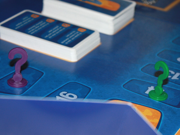 Spielfiguren auf Privacy 2 Spielbrett