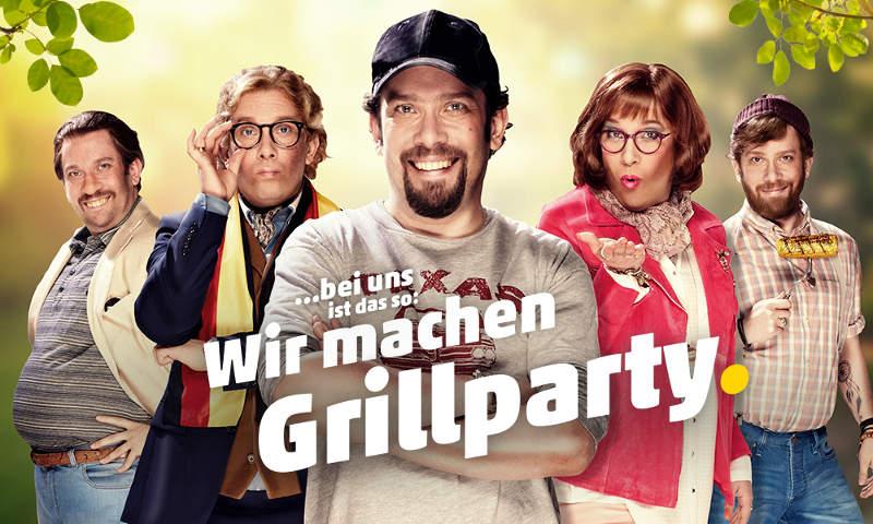 Christian Ulmen Penny Grillparty