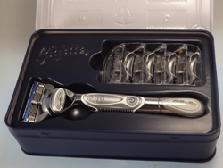 Gillette Rasierer in Retrobox