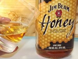 Jim Beam Honey ein vollmundiger Bourbon Likör mit Honig