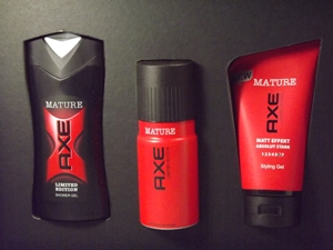 AXE MATURE Limited Edition Set