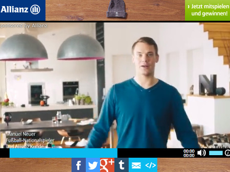 WM 2014 Manuel Neuer packt die Koffer (Sponsored Video)