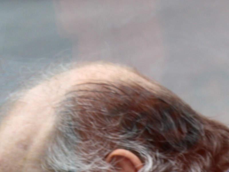 Lichtes Haar