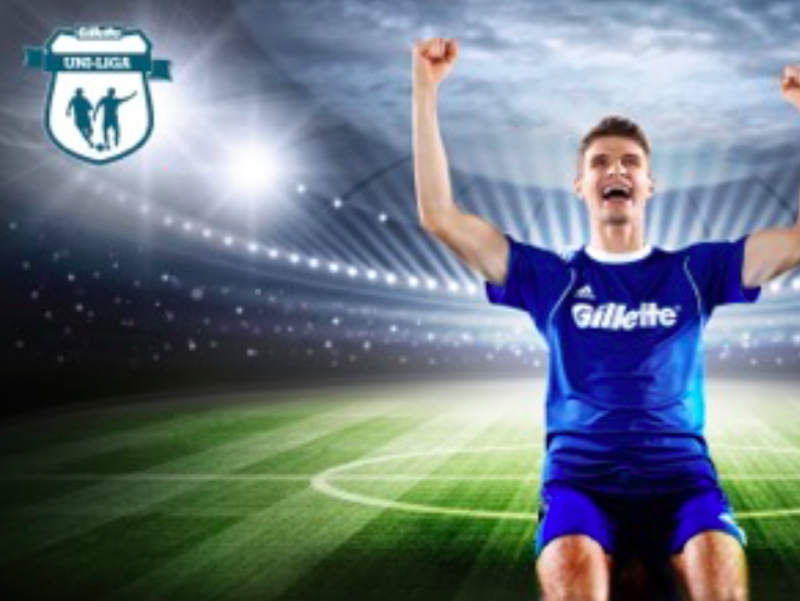 Thomas Müller & Gillette Uni-Liga