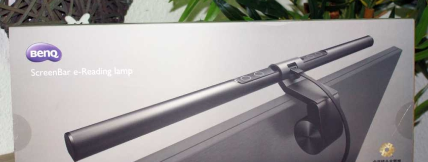 BenQ-ScreenBar-Schreibtischleuchte für Monitor dimmbar