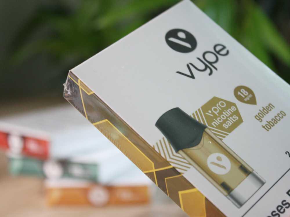 Vype ePod Caps mit verschiedenen Geschmacksrichtungen