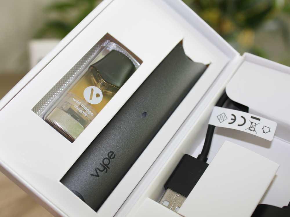 Vype ePod Starterset mit USB-Ladekabel