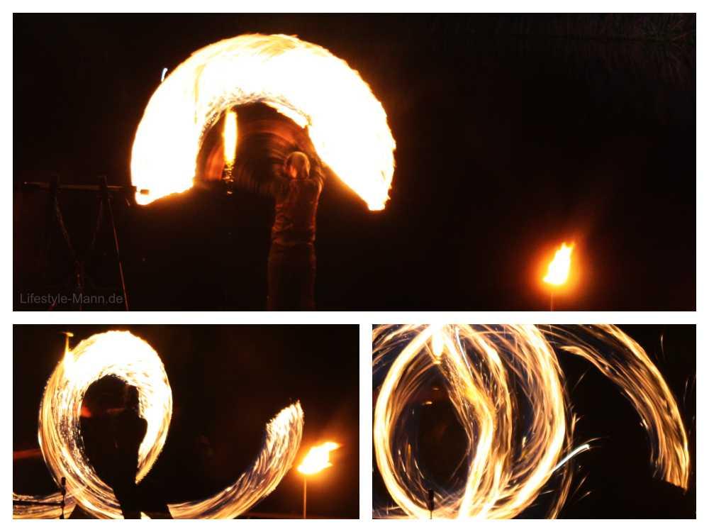 Künstler für Feuershow Event buchen